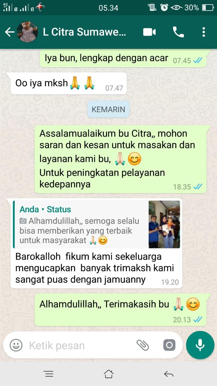 Testimoni aqiqah malang ladida (2)