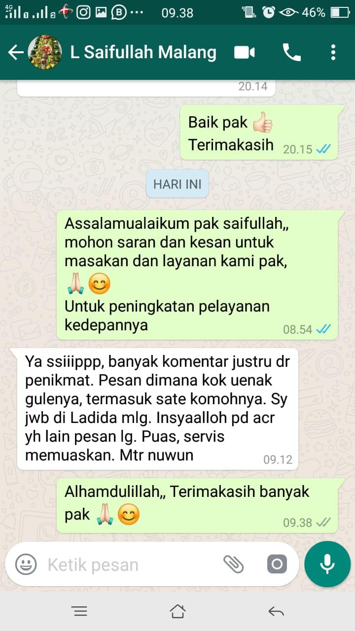 Testimoni aqiqah malang ladida (8)