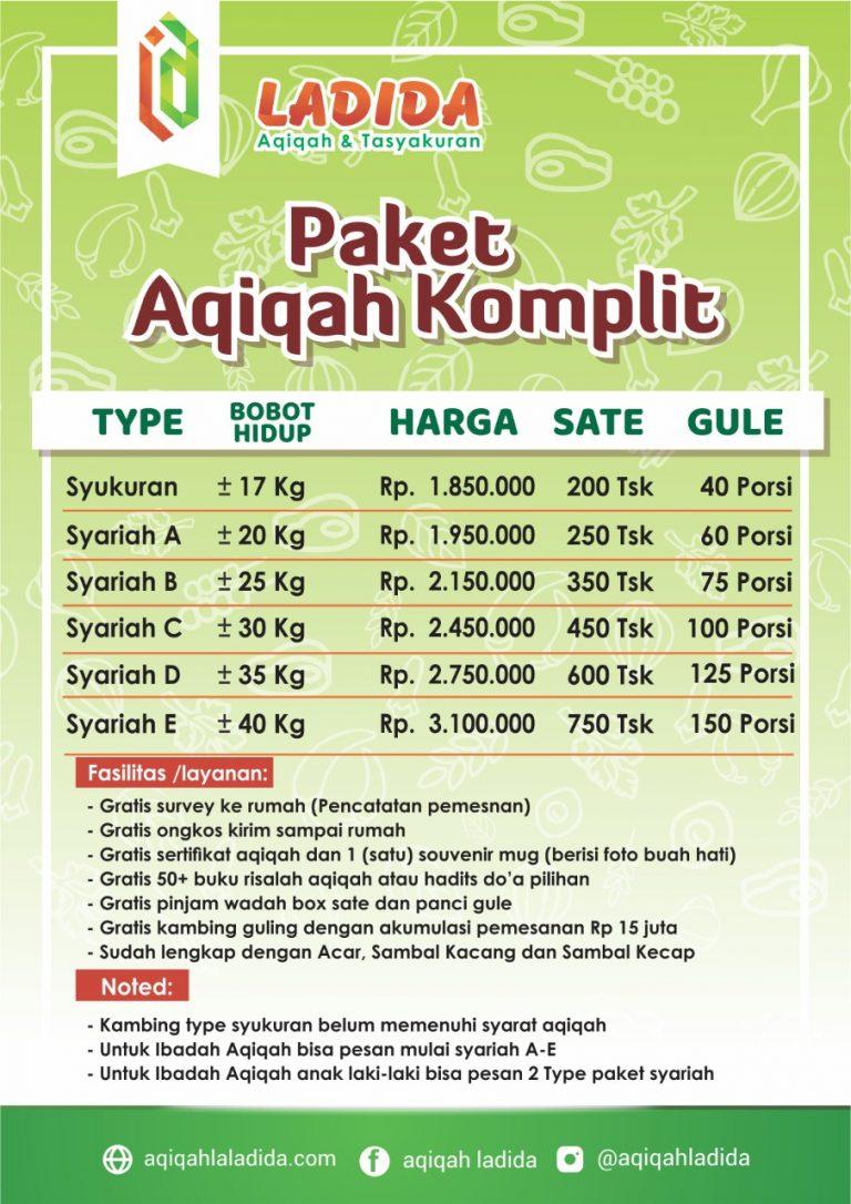 aqiqah komplit malang
